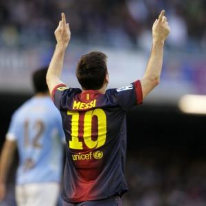 Photos: I don't give records any importance, says Messi
