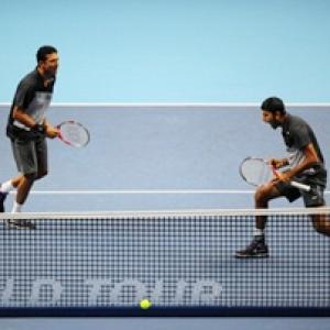 Rome Masters: Bhupathi-Bopanna advance, Paes-Melzer out