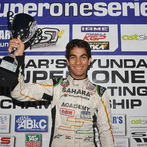 Daruvala first Indian to clinch British Karting Championship