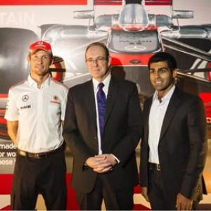 When Shah Rukh quizzed former F1 champion Button