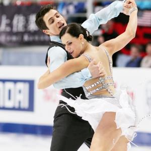 Sochi Games: Ice dancers glide to centre stage and more...