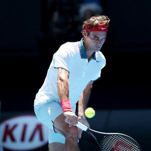 Aus Open PHOTOS: Federer eases past Duckworth, Azarenka staggers into 2nd rnd