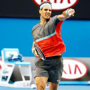 PHOTOS: Federer leads 'Big Four' charge into quarters