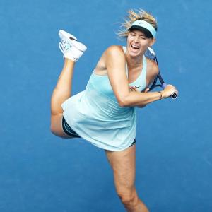 Frustrating Australian Open all over for Sharapova
