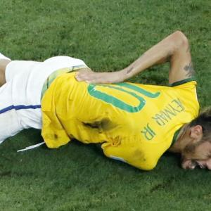 Neymar injury leaves Scolari and Brazil in a quandry