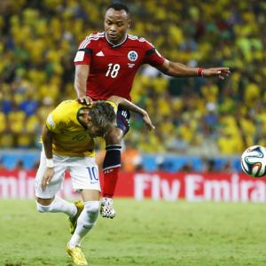 Brazil shocked, angered by Neymar's back injury