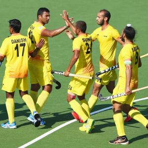 PHOTOS: India beat Wales in CWG hockey opener