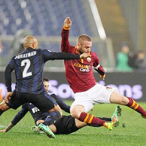 Serie A: Roma drop points in drab draw with Inter