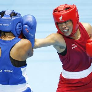 Sarita, Mary Kom assured of medals at Polish boxing tourney