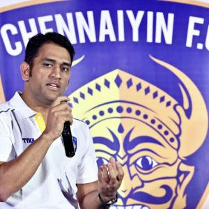 Dhoni becomes ISL team Chennaiyin FC co-owner