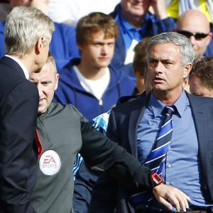 Jose Mourinho torments Arsene Wenger again, on and off the pitch