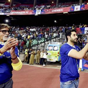 Amitabh Bachchan believes football has potential to grow in India