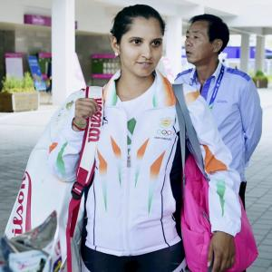 Spotted! Sania Mirza checks in at Asian Games village!