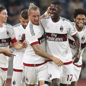'AC Milan's goal is to finish inside the top three in Italy'