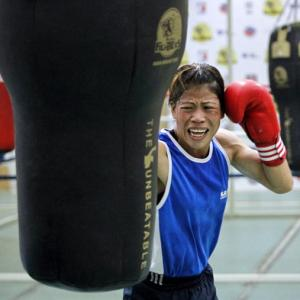Exclusive! A year to go as Mary Kom set sights on gold at Rio Olympics
