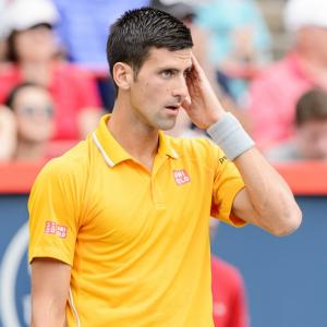 Someone was smoking weed and Djokovic could smell it!