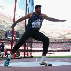 Celebrated discus thrower Vikas Gowda retires