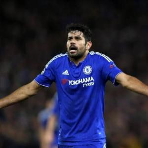 Chelsea's Costa charged by FA for improper conduct