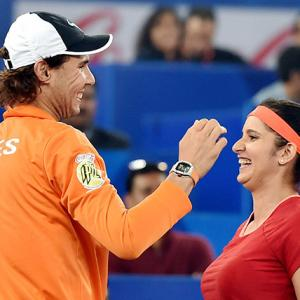 IPTL: Nadal, Sania help Indian Aces thrash Philippines Mavericks