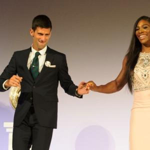 Djokovic and Serena Williams named ITF world champions for 2015