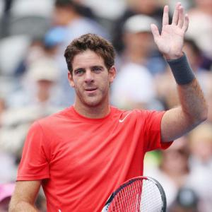 Wrist injury rules Del Potro out of Brisbane event