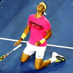 Nadal survives cramps to battle into third round