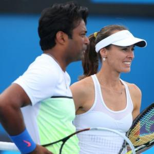 Indians at the French Open: Paes-Hingis move into Round 2