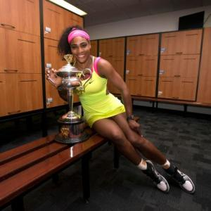 Relaxed Serena cherishing every victory