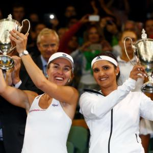 Sania seals historic Wimbledon crown with Hingis