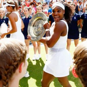 Wimbledon winner Serena eyes fairytale in New York