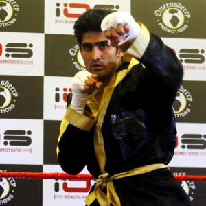'Vijender is poised to break into the big league'