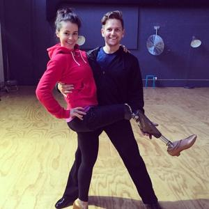 Paralympic champ 'Dancing With The Stars' pregnant!