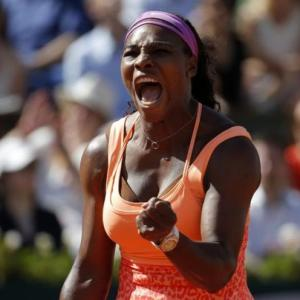 Serena chasing tennis history at the French Open
