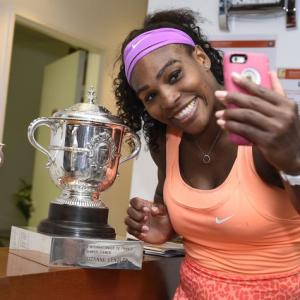 No stopping Serena as she hoists 20th major trophy