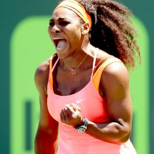 Miami Open: Williams sisters head into last eight