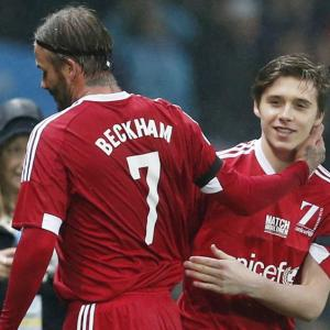 PHOTOS: When Beckham was substituted by Beckham...