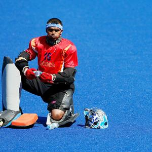 India's Sreejesh nominated for Goalkeeper of the Year Award