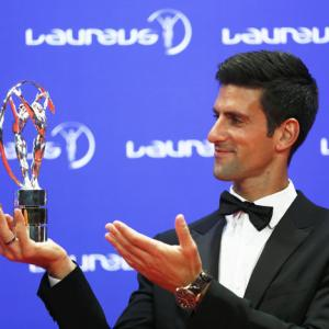 Dominant Djokovic, Serena claim top honours at Laureus Sports Awards