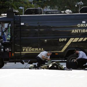 Rio bomb squad blows up backpack near cycling course - official