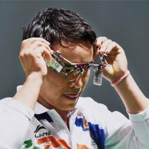 Jitu Rai shoots silver at World Cup