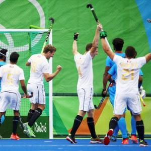 Men's Hockey: Late strike helps Canada hold India