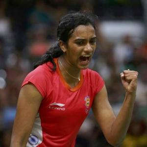 Saina shocked; Sindhu, Srikanth keep badminton medal hopes alive