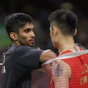 Srikanth loses to Lin Dan after gallant fightback
