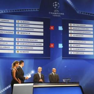 Champions League: Manchester City, Celtic drawn with Barcelona