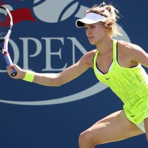 Neon yellow outfits turn heads at US Open