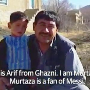 Messi keen to meet Afghan boy in plastic jersey after his pics go viral