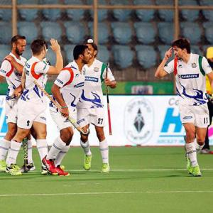 Hockey India League: UP Wizards stun Delhi Waveriders 6-4
