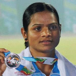 Dutee Chand defies the odds to make Rio 100m