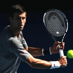 Record-chasing Djokovic ready to rumble in Melbourne heat