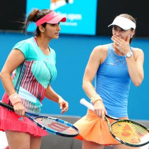 Sania, Bopanna ease into second round at Australian Open